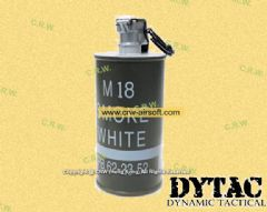 DYTAC Dummy M18 Decoration Smoke Grenade (White)